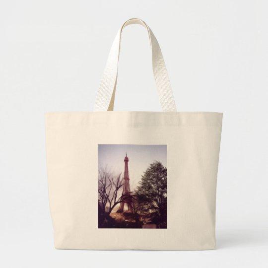 La Tour Eiffel Large Tote Bag