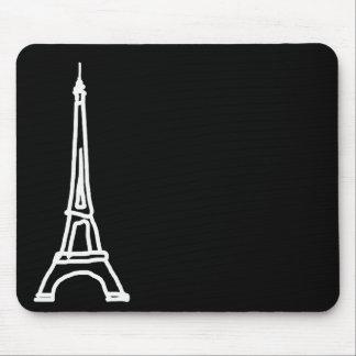 la tour Eiffel Mouse Pad