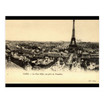 La Tour Eiffel, Paris France c1910 Vintage Postcard