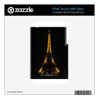 La Tour Eiffel Skin For iPod Touch 4G