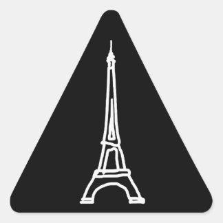 la tour Eiffel Triangle Sticker