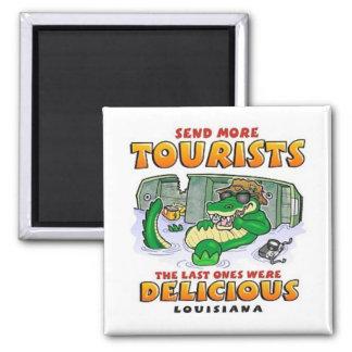 LA Tourist Gator Refrigerator Magnet