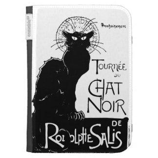 La tournée du Chat Noir Kindle Folio Cases