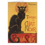 La tournée du Chat Noir Greeting Card