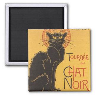 La tournée du Chat Noir Refrigerator Magnets