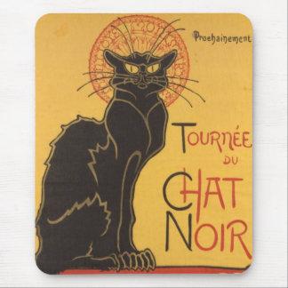 La tournée du Chat Noir Mouse Pad