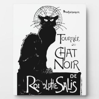 La tournée du Chat Noir Plaque