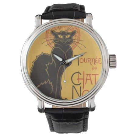 La Tournée Du Chat Noir Watch