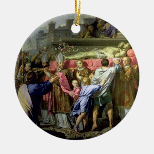 La traducción de los cuerpos de los SS. Gervase y  Ornamente De Reyes