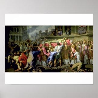 La traducción de los cuerpos de los SS. Gervase y  Póster