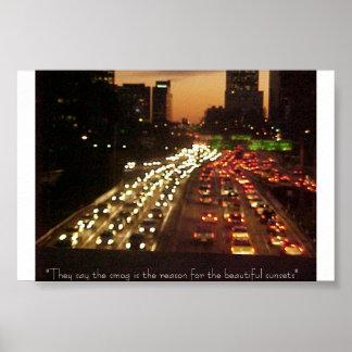 LA Traffic Poster