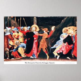 La traición de Cristo de Selvaggia Sassetti Posters