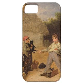 La trampa de rata (aceite en el panel) iPhone 5 carcasa