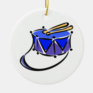 la trampa resumió el juguete blue.png de la honda adorno redondo de cerámica