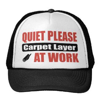 La tranquilidad alfombra por favor capa en el trab gorras