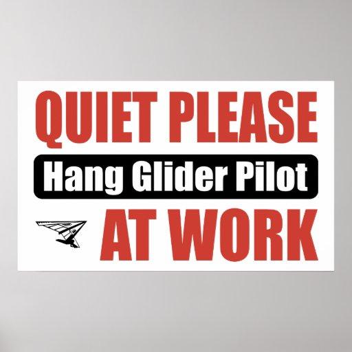 La tranquilidad cuelga por favor el piloto de plan posters