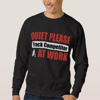 La tranquilidad sigue por favor al competidor en suéter