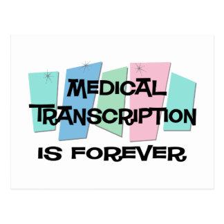 La transcripción médica es Forever Postal