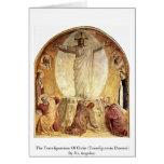 La transfiguración de Cristo Felicitación