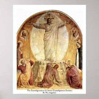 La transfiguración de Cristo Poster