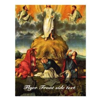La transfiguración de Cristo por DES Unive de Meis Tarjeta Publicitaria