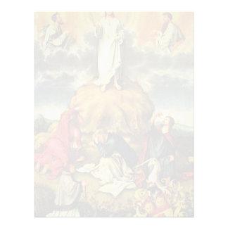 La transfiguración de Cristo por DES Unive de Meis Membrete A Diseño