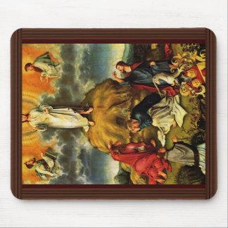 La transfiguración de Cristo por DES Unive de Meis Alfombrillas De Ratones