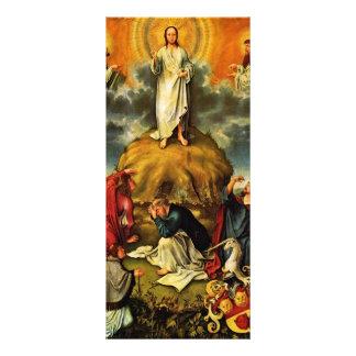 La transfiguración de Cristo por DES Unive de Meis Tarjetas Publicitarias Personalizadas