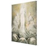 La transfiguración lienzo envuelto para galerias