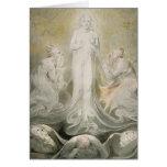 La transfiguración tarjeta de felicitación