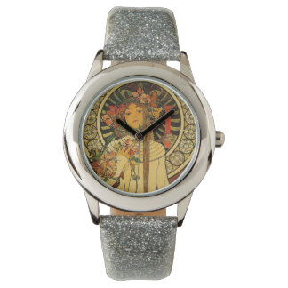 La Trappistine by Alfons Mucha Wrist Watch