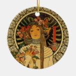La Trappistine de Mucha Ornamentos Para Reyes Magos