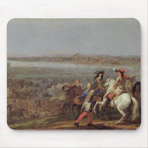 La travesía del Rin, el 12 de junio de 1672 Mousepad