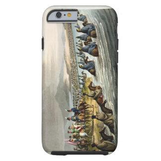 La travesía jactada del Niemen en la abertura Funda De iPhone 6 Tough
