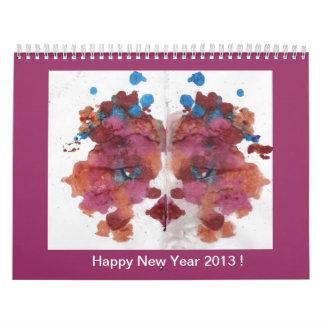 La travesura colorea el calendario 2013