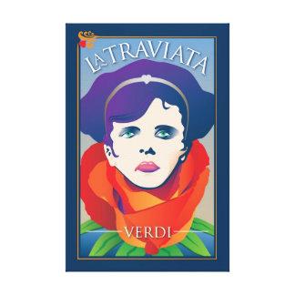 La Traviata, Opera Canvas Print