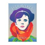 La Traviata, Opera Canvas Prints