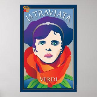 La Traviata, Opera Poster