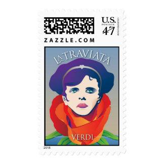 La Traviata, Opera Stamp