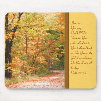 La trayectoria en el otoño 2 tapetes de raton