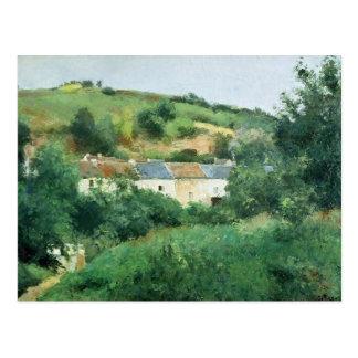 La trayectoria en el pueblo, 1875 postales