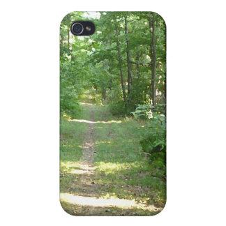 La trayectoria en naturaleza iPhone 4/4S carcasas