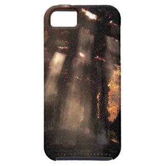 La trayectoria sombreada (otoño) iPhone 5 carcasa
