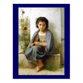 La tricoteuse postcard