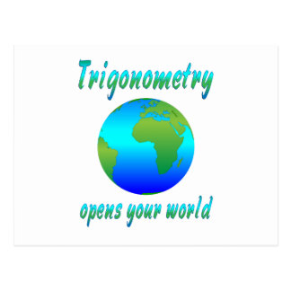 La trigonometría abre los mundos postal