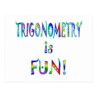 La trigonometría es diversión postal