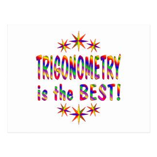 La trigonometría es el mejor postal
