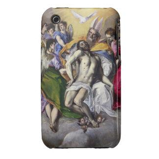 La trinidad, 1577-79 (aceite en lona) iPhone 3 funda