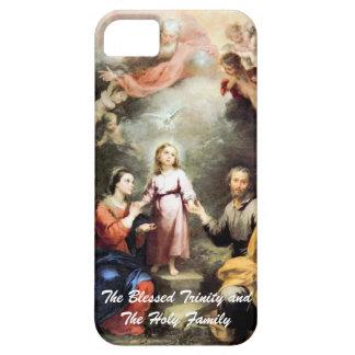 La trinidad bendecida y la familia santa iPhone 5 Case-Mate fundas