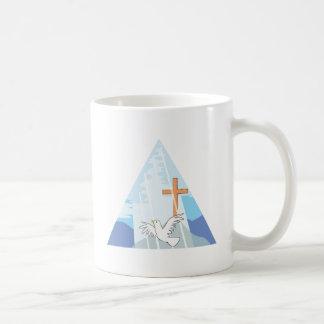 La trinidad - dios el hijo del padre y el Espíritu Taza De Café